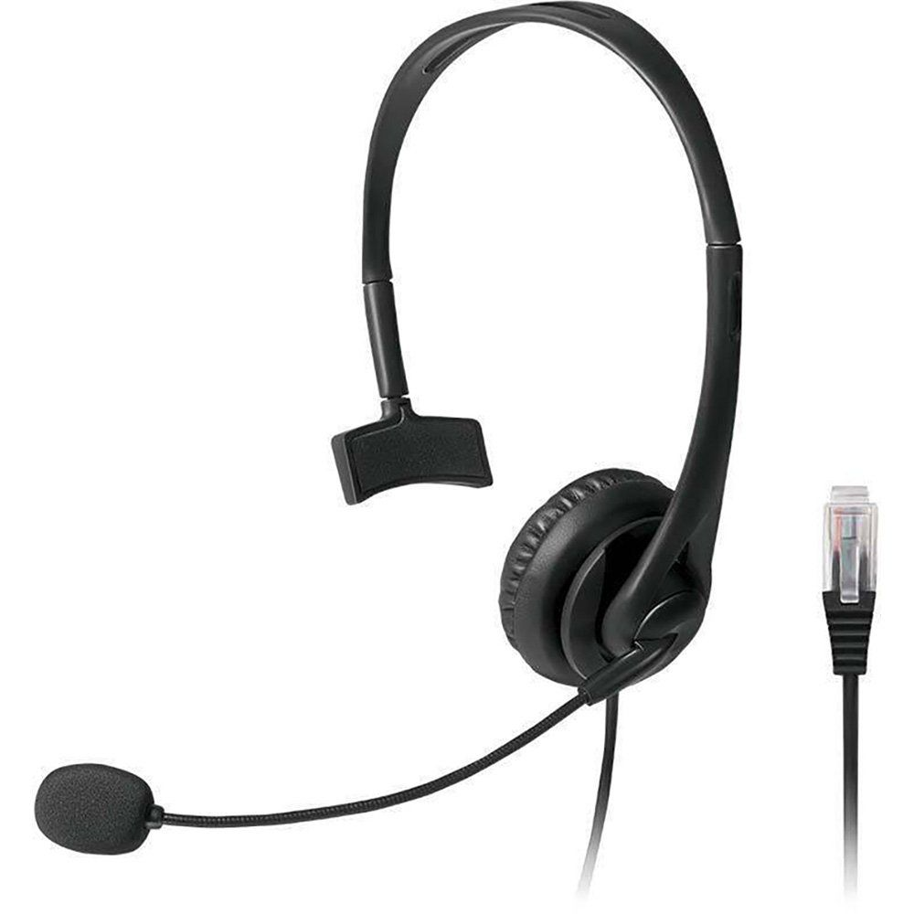 Headset Profissional P/ Telefone Office Preto PH251 Multilaser