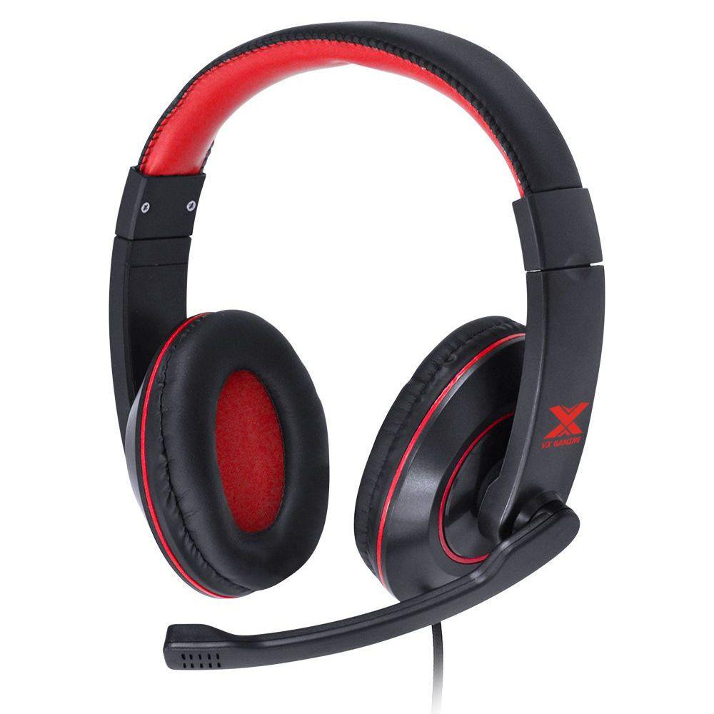 Headset Vinik Preto / Vermelho Gaming  V. Blade 2 VX