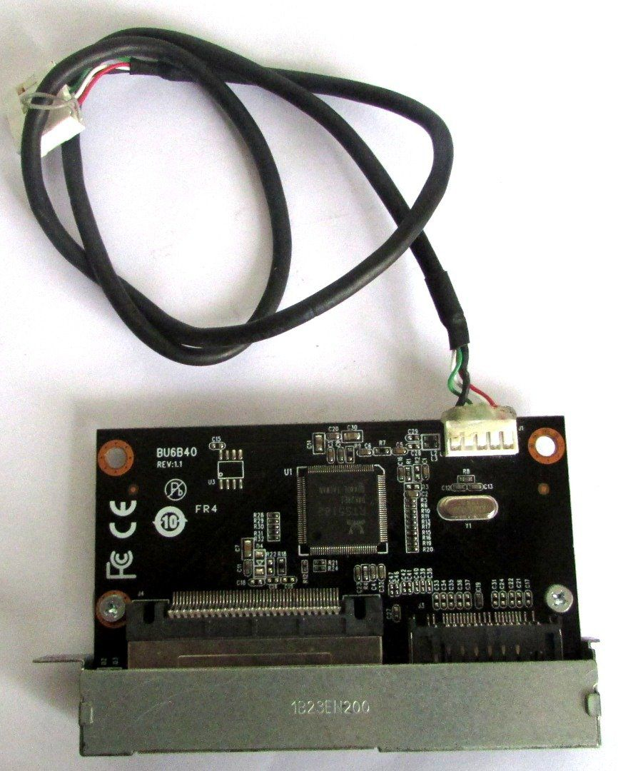 IBM Lenovo ThinkStation E31 Leitor De Cartão De Mídia 03T8161 BU6B40 (semi novo)
