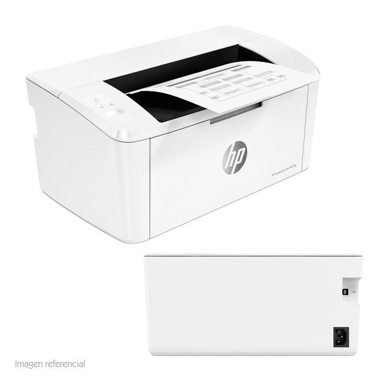 Impressora HP Laserjet Pro M15w Com WI-FI 110V Branca