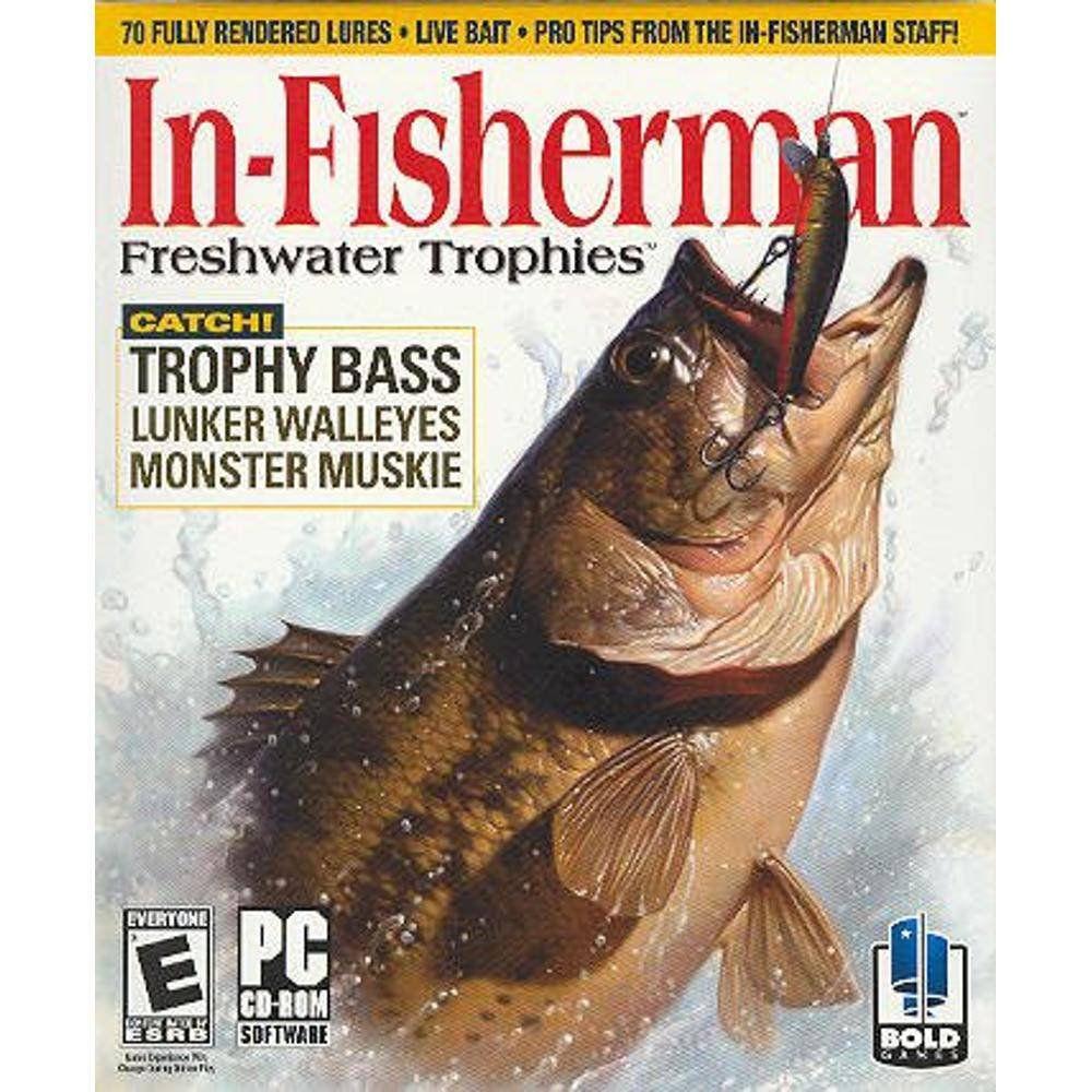 Jogo p/ PC In-Fisherman: Freshwater Trophies CD Original Mídia Física