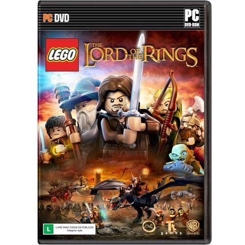 Jogo p/ PC LEGO The Lord of the Rings Dvd Original Mídia Física