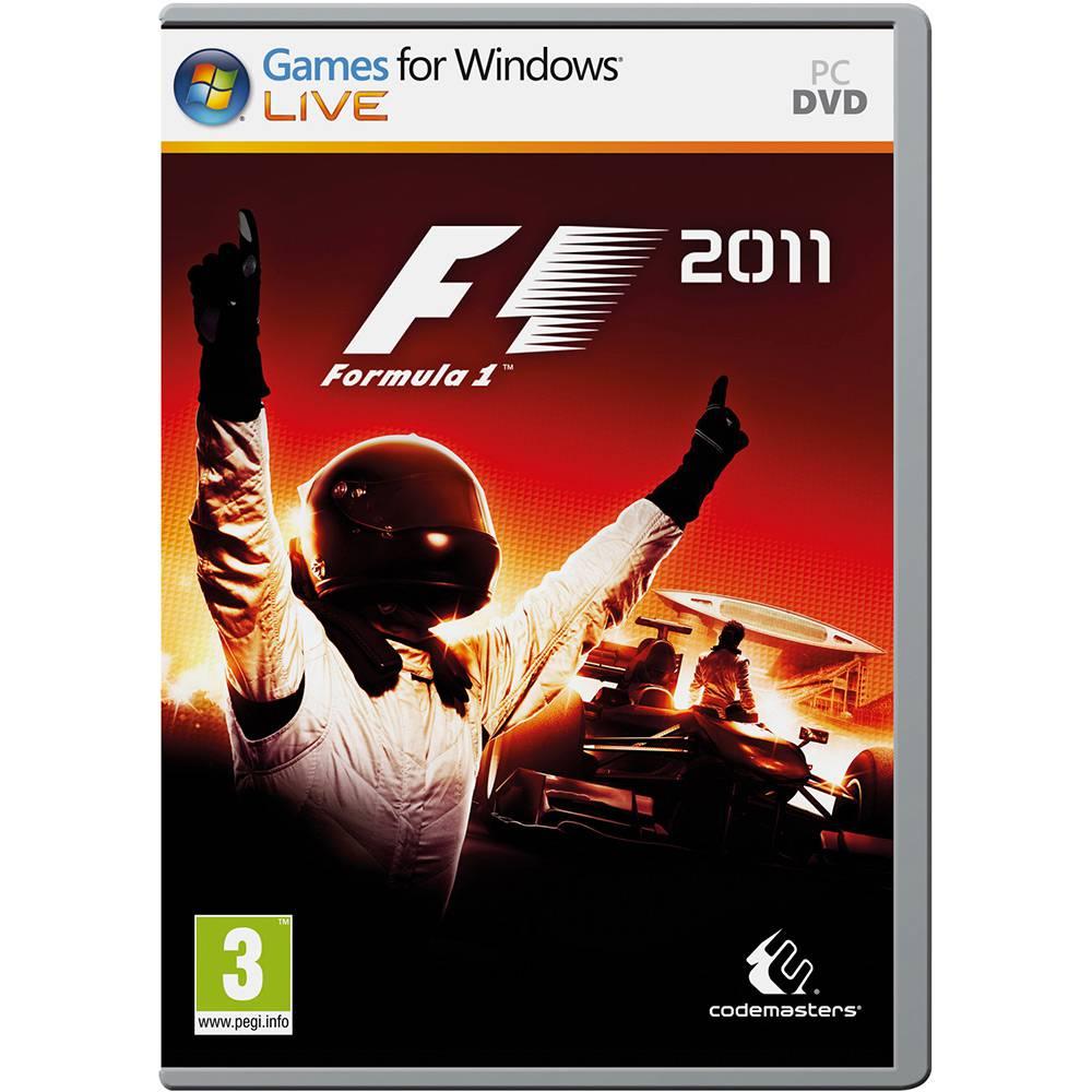 Jogo p/ PC Formula 1 2011 DVD Original Mídia Física