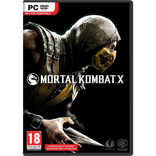 Jogo p/ PC Mortal Kombat X DVD Mídia Física