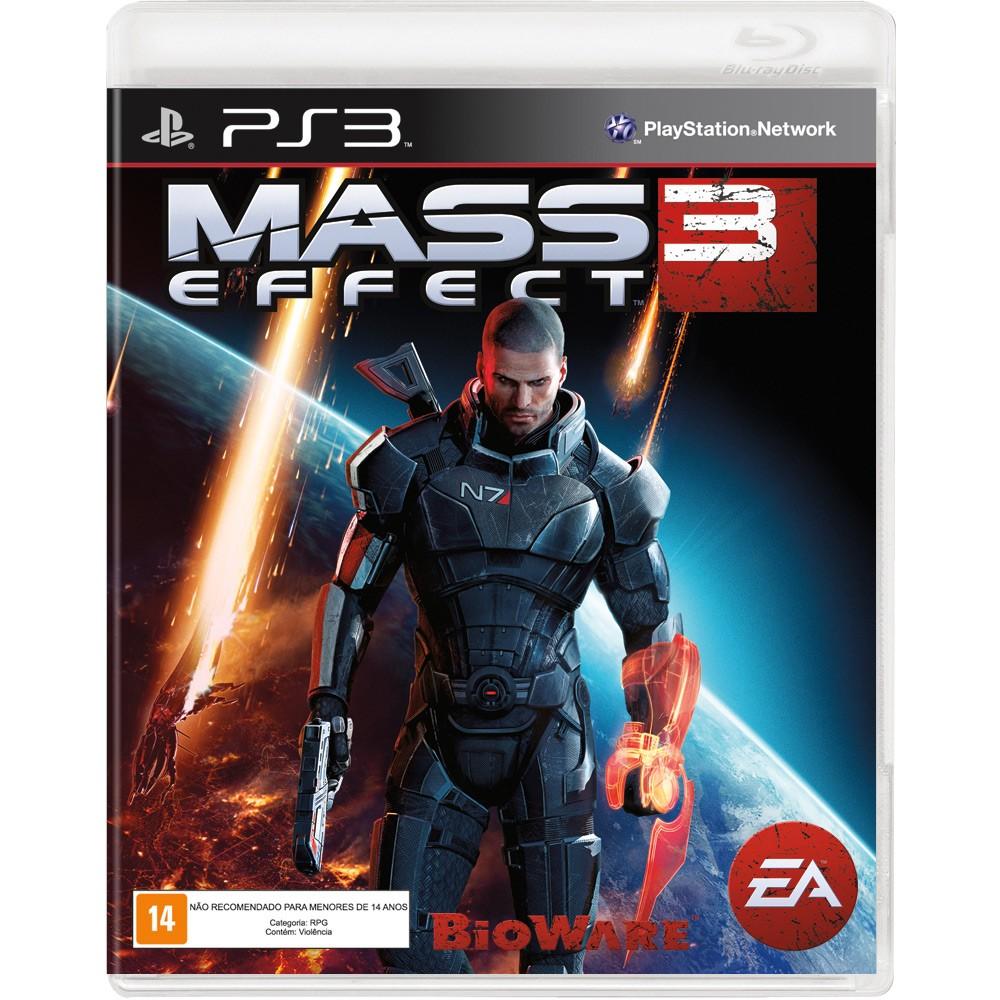 Jogo p/ PS3 Mass Efect 3 Mídia Física