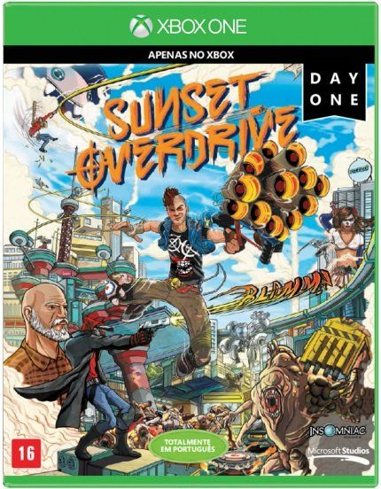 Jogo P/ Xbox One Sunset Overdrive - Day One Midia Fisica
