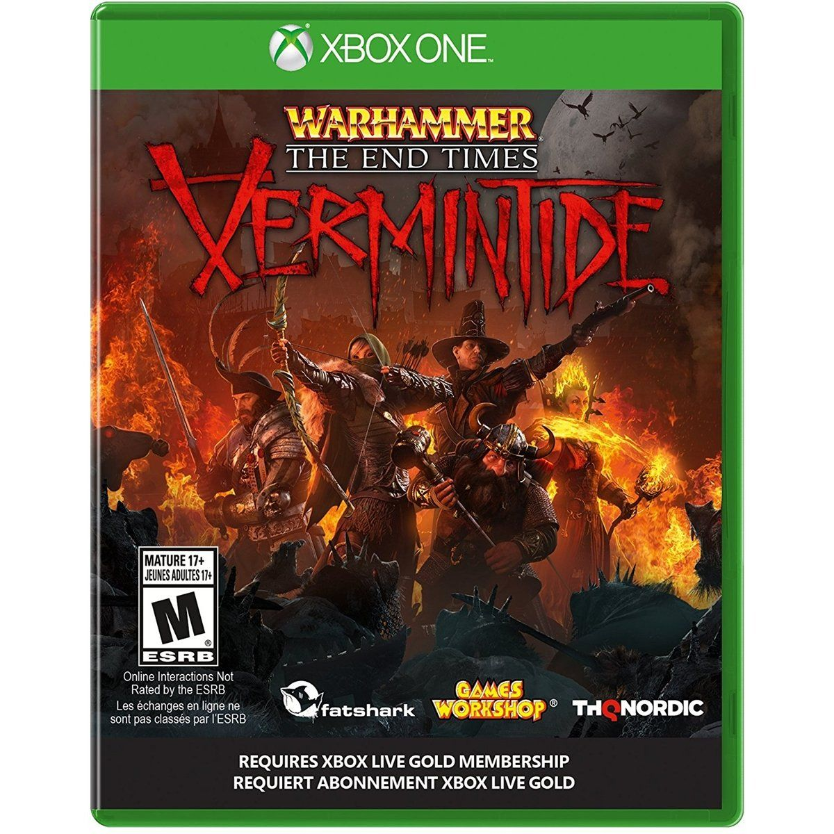 Jogo P/ Xbox One Warhammer The End Times Xermintide Midia Fisica