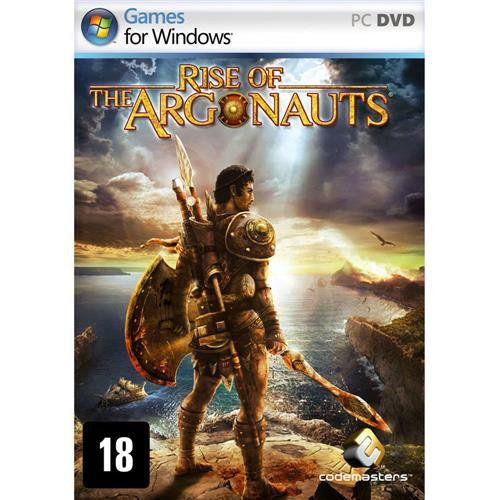 Jogo p/ PC Rise of the Argonauts DVD Original Mídia Física