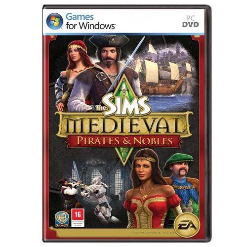 Jogo p/ PC The Sims Medieval: Pirates & Nobles (expansão) DVD Original Mídia Física