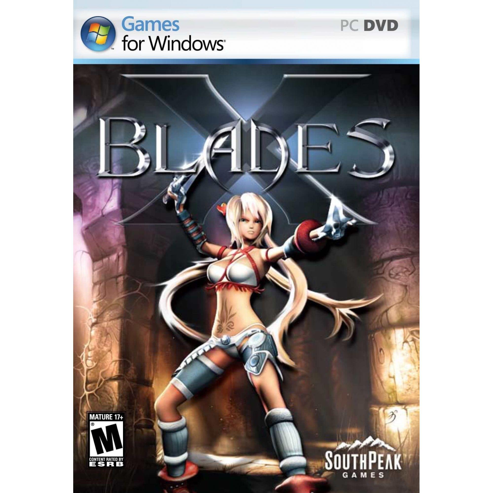 Jogo p/ PC X-Blades DVD Original Mídia Física