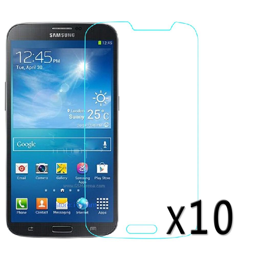Kit 10 Película de vidro Temperado celular N' mastoh 9H - Galaxy Mega 6.3 Pol I9200 Galaxy Mega 6.3 Pol I9200