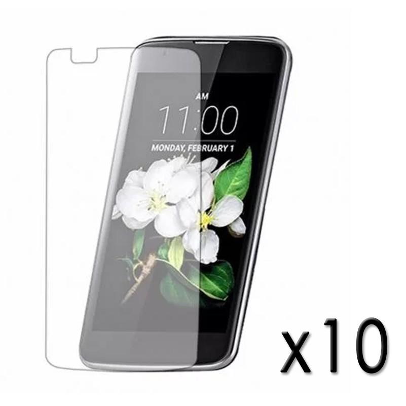 Kit 10 Películas de vidro Temperado celular N' mastoh 9H - LG K7