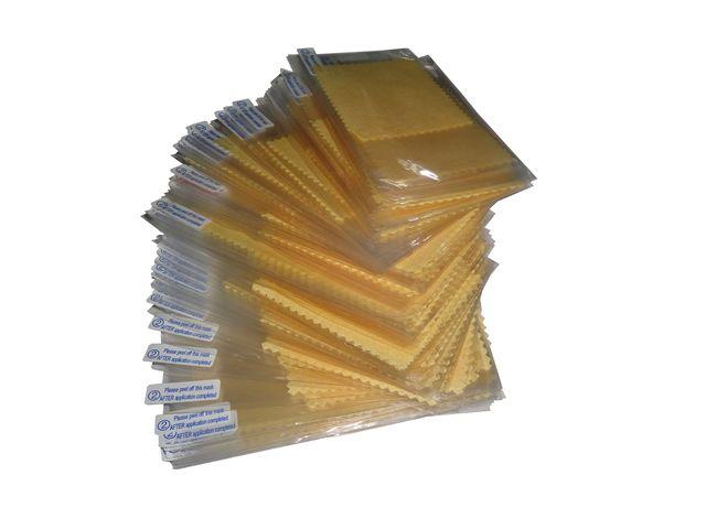 Kit 10 Películas Plástico Samsung Galaxy S4 GT-i9500  i9505 i9515