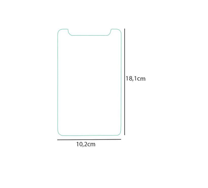 Kit c/ 4 Película Universal de Vidro P/ Tablet  3g 7 Polegadas