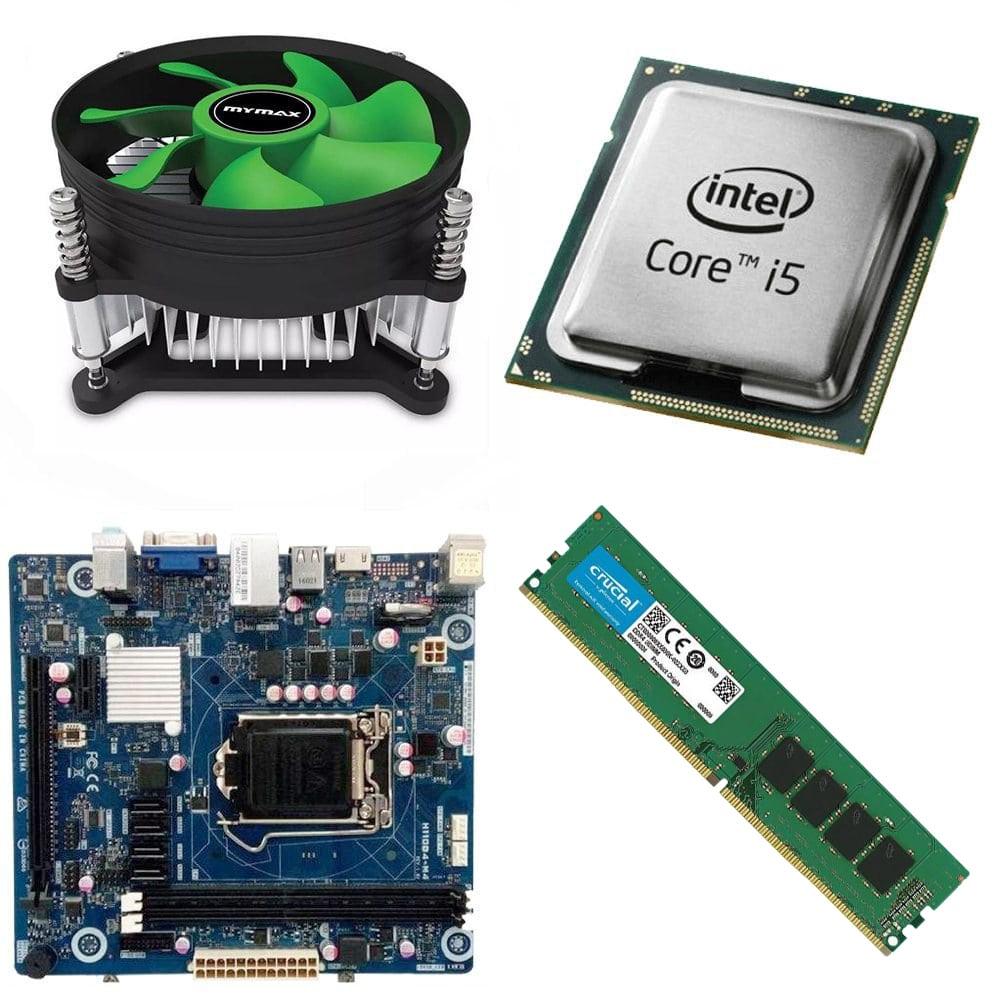Kit Placa Mãe IPMH110 PRO + Processador i5 6400 2.7Ghz + 8GB Ram DDR4