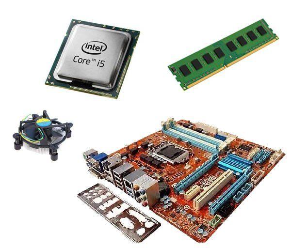 Kit Processaodor I5 2400 3,1GHZ + Placa Mãe STI ST4272 + 4GB Ram DDR3