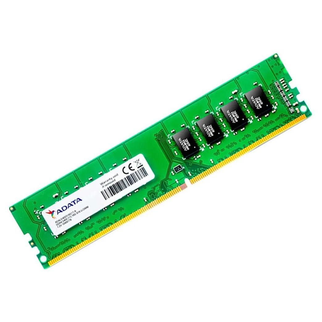 Memória Ram 4GB DDR4 Adata U-DIMM 2400MHZ CL17 Desktop - Ad4u2400j4g17-b