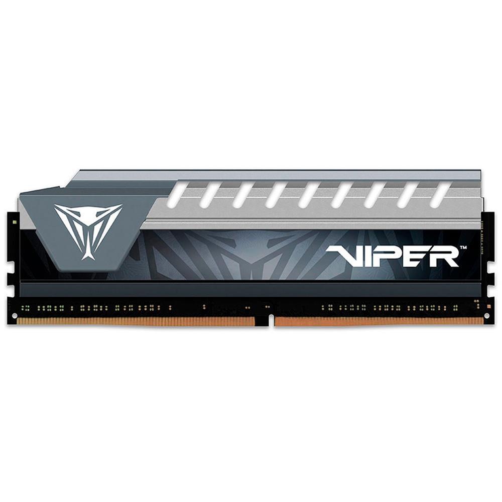 Memória Ram 8GB DDR4 Patriot Viper Elite 2400MHz - PVE48G240C6GY
