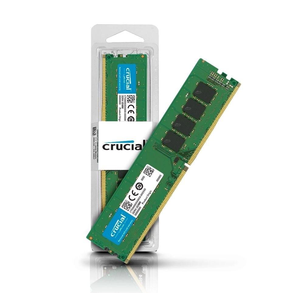 Memória RAM Crucial 16gb 2666mhz Ddr4 Cl19 UDIMM - CT16G4DF8266
