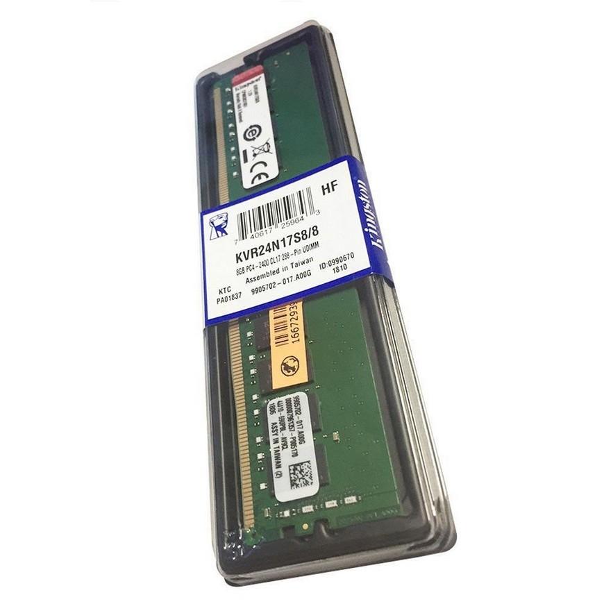 Memória Ram P/ Desktop 16GB 2400 Mhz Kingston DDR4 - KVR24N17S8/16
