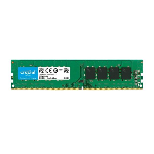 Memória Ram P/ Desktop 16GB 2666 Mhz Crucial DDR4 CL19 1.2V - CT16G4DFRA266