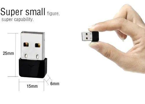 Mini Adaptador Wifi Wireless 300Mbps 2.4GHZ Realtek