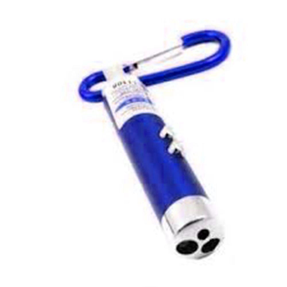 Mini Lanterna Chaveiro 3 Funções Azul Identificador de Nota falsa