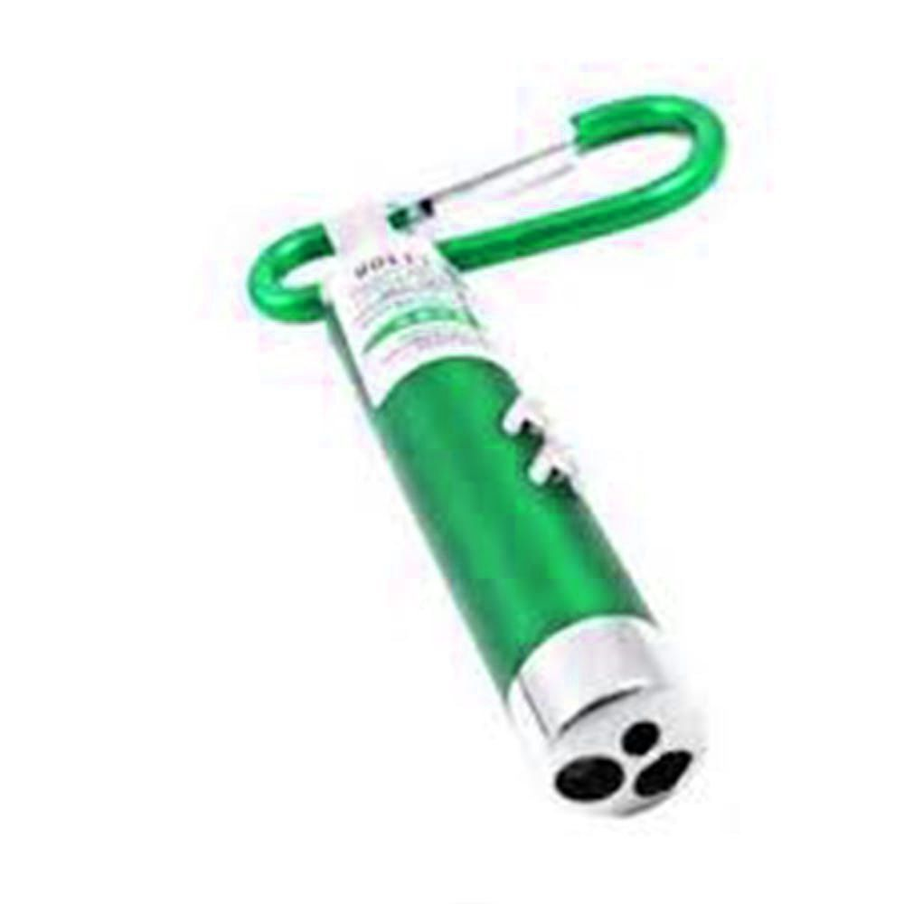 Mini Lanterna Chaveiro 3 Funções Verde Identificador de Nota falsa