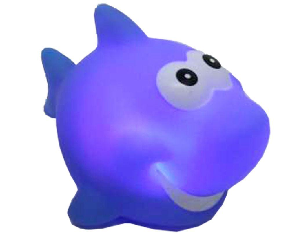 Mini Luminaria Infantil Tubarão Azul Multikids BR1039