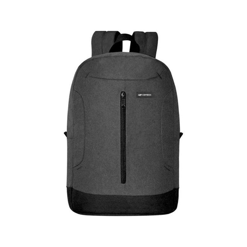 "Mochila Notebook C3 Tech Dublin 15,6"" Cinza MC-20GY"