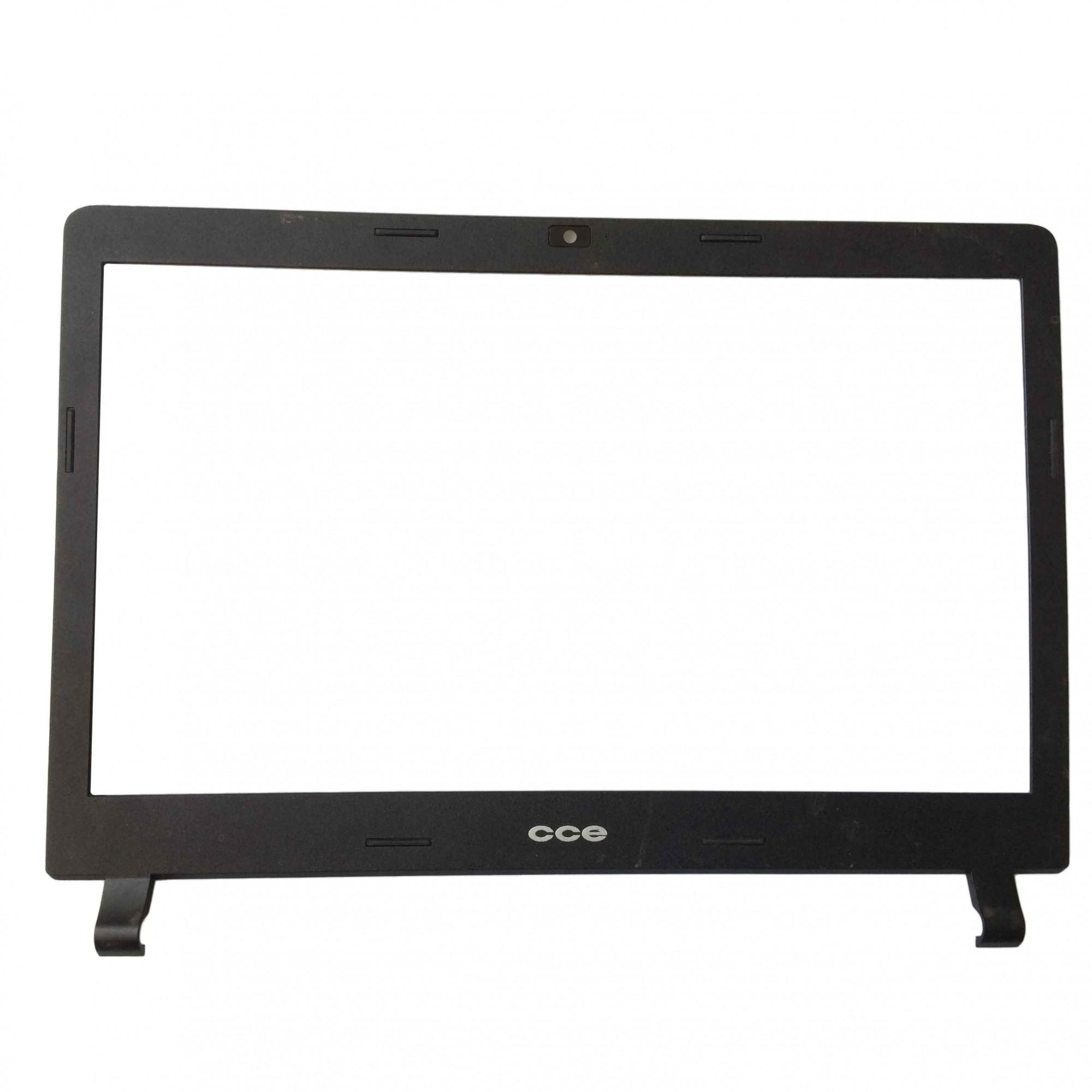 Moldura Tela LCD Notebook Cce Win U25 U25l PN:62rph43b12a1101 - Retirado