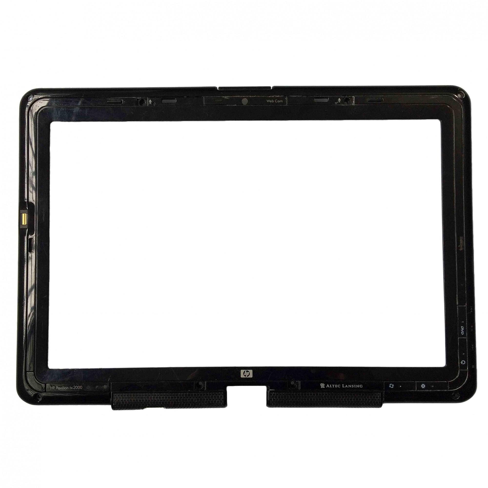 Moldura Tela LCD Notebook Hp Pavilion Tx2075br PN:eatt8002012 - Retirado