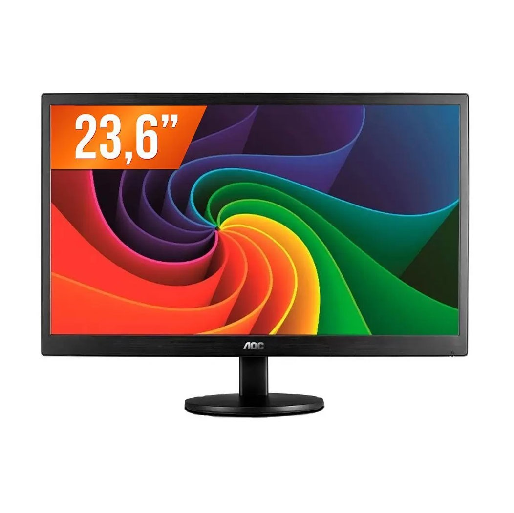 Monitor Led 23.6'' Widescreen Full HD HDMI WVA AOC Preto - M2470SWH2