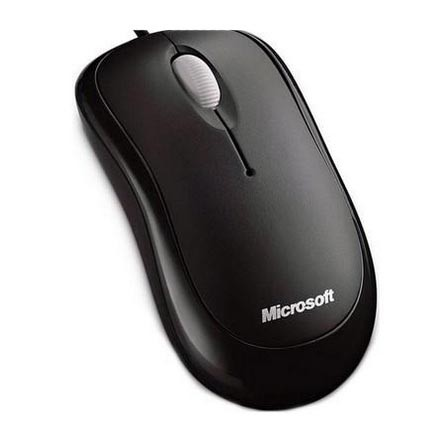 Mouse C/ Fio Microsoft Basic optical USB Preto - P5800061