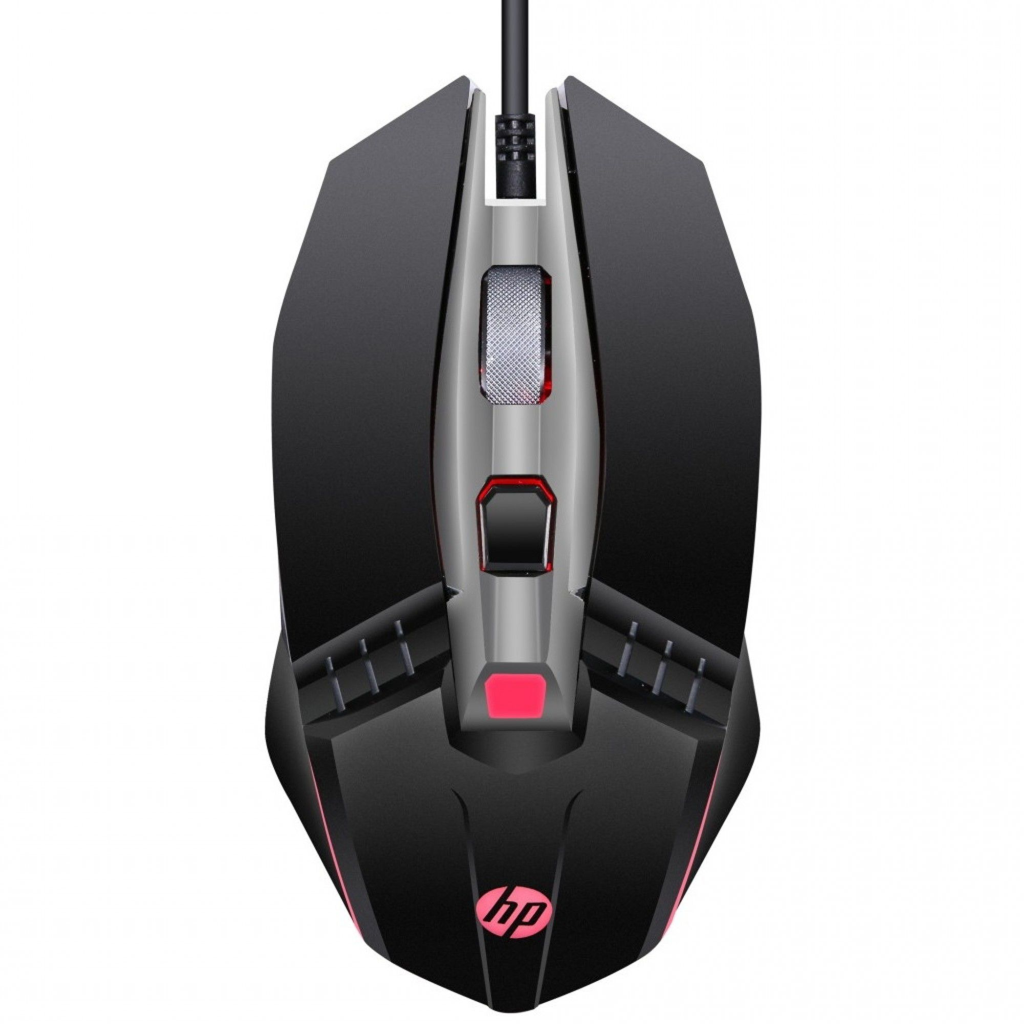 Mouse Gamer HP M270 2400 DPI LED Preto 7ZZ87AA#ABM