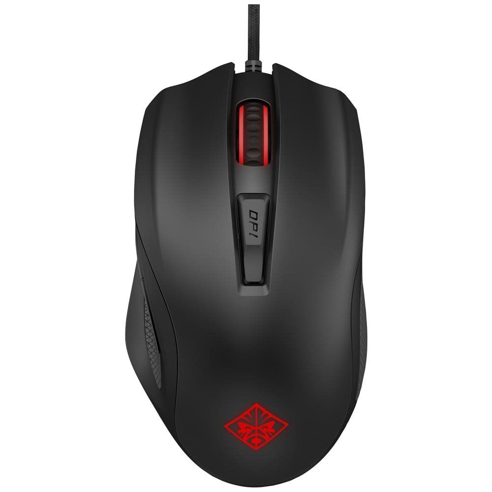 Mouse Gamer HP Omen 600 USB 12000 DPI Preto