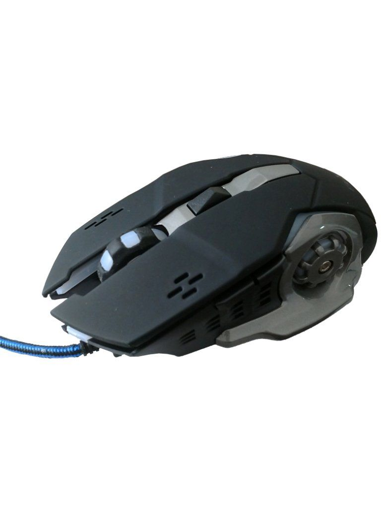Mouse Gamer Luminoso  BRX USB  3200DPI HV-MS783 Preto