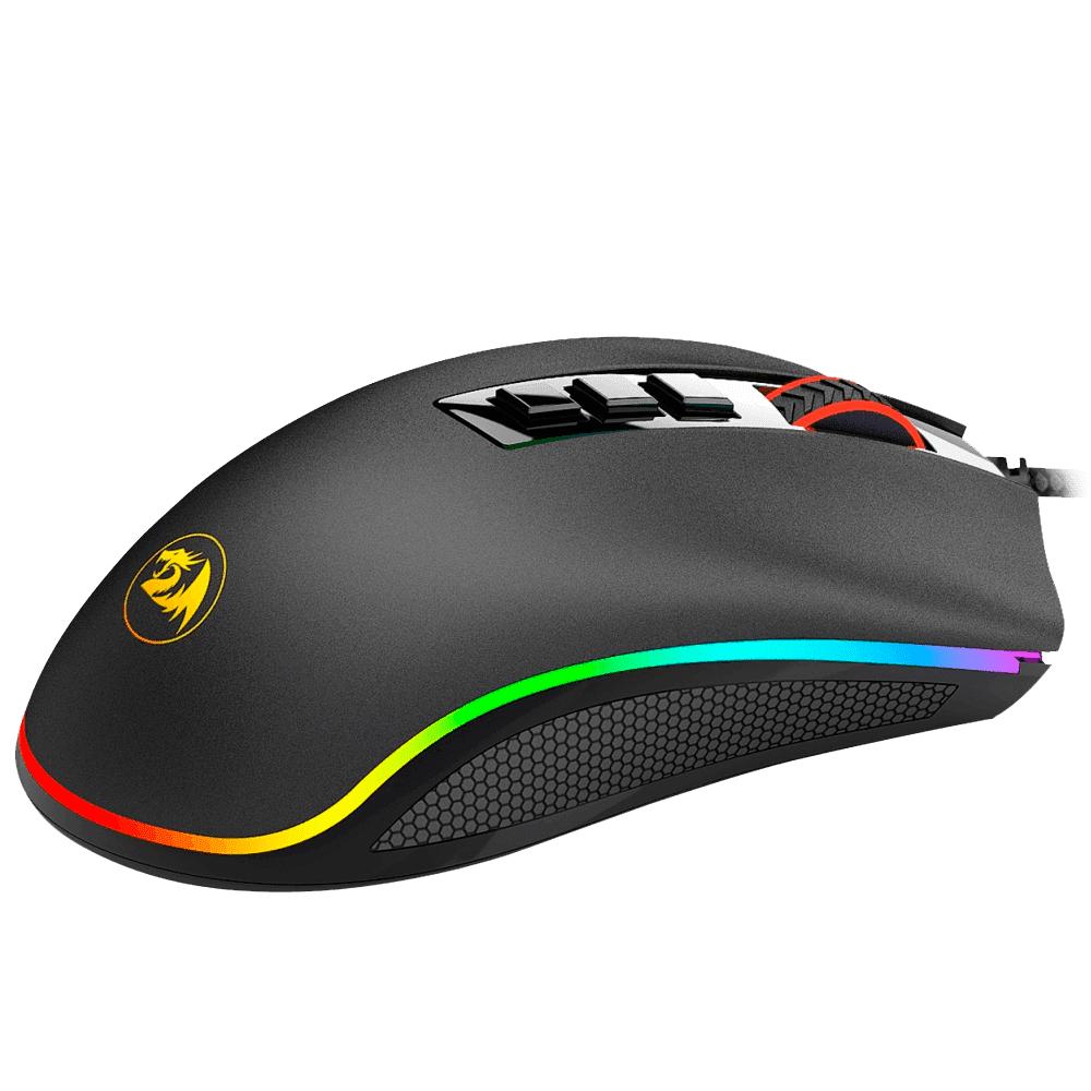 Mouse Gamer ReDragon Cobra 10000 Dpi RGB, M711