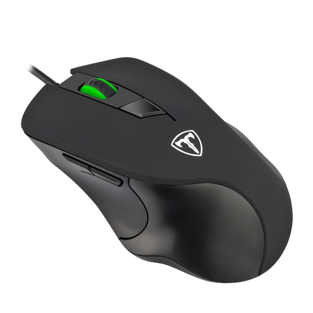 Mouse Gamer T-Dagger Detective 6 Botões, 3200DPI - T-TGM109