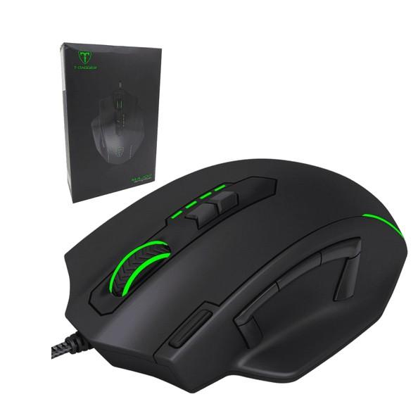 Mouse Gamer T-dagger Senior Rgb 7 Botões 4800dpi - T-TGM205