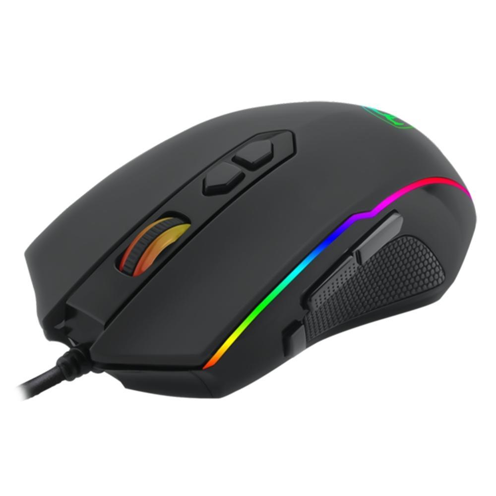 Mouse Gamer T-Dagger Sergeant RGB 6 Botões 3200DPI - T-TGM202