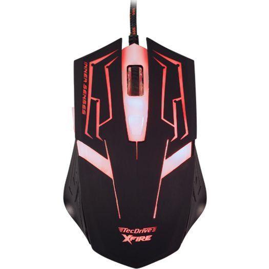 Mouse Gamer Tecdrive Skanda 3200 Dpi 7 Botões