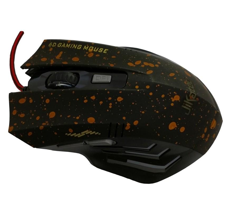 Mouse Ótico Gamer Jikatec 3200DPI KMO-10