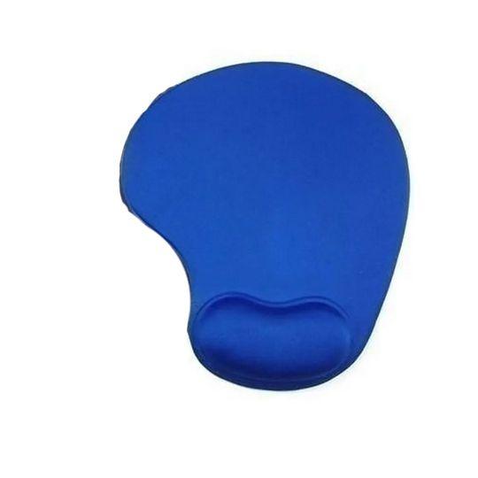 Mouse Pad Ergonomico Comfort Pad C/ Suporte de punho em Gel. Azul