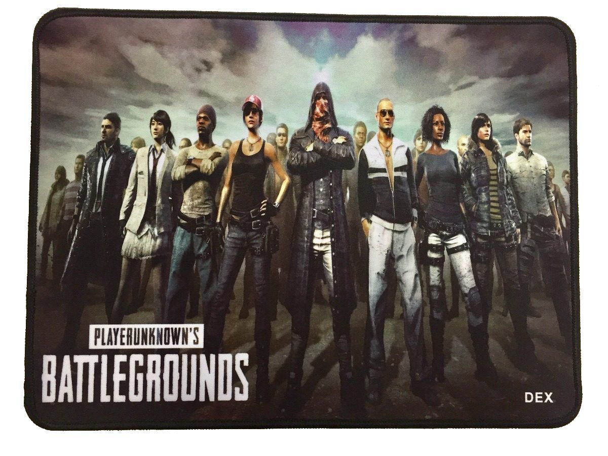 Mouse Pad Gamer Emborrachado Dex PUBG