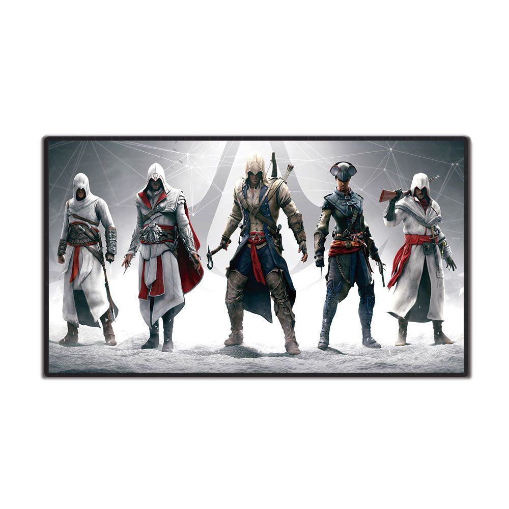 Mouse Pad Gamer Extra Grande EXBOM 70x35cmAssassins Creed