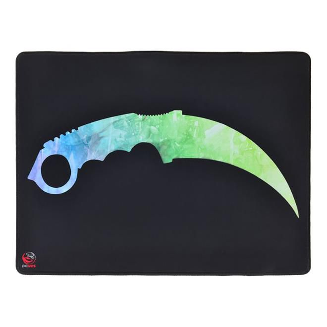 Mouse Pad Pcyes FPS Knife FK 50x40cm Preto