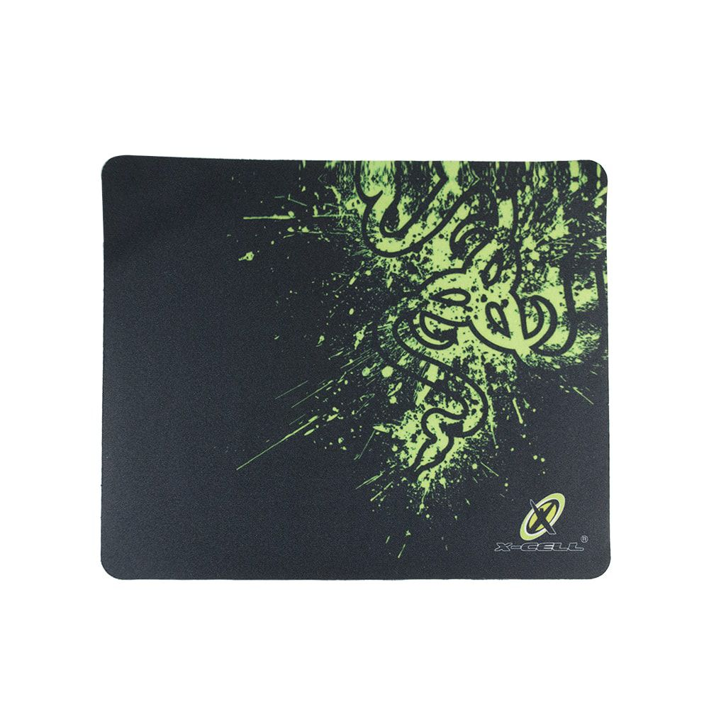 Mouse Pad Simples Cobra Esverdeada X-Cell XC-MPD-03