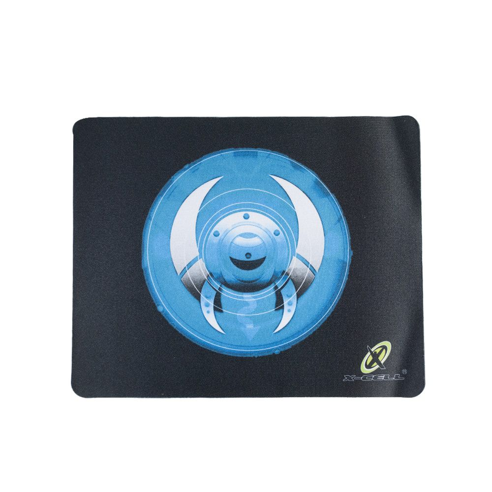 Mouse Pad Simples Escudo Azul X-Cell XC-MPD-03