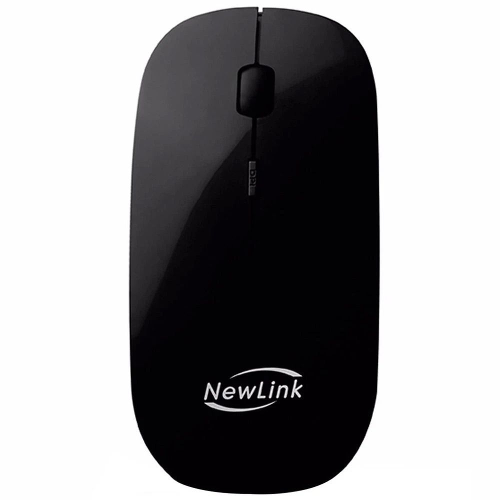Mouse Sem Fio Newlink Freedom 1600dpi 2,4ghz Wireless Preto - Mo201